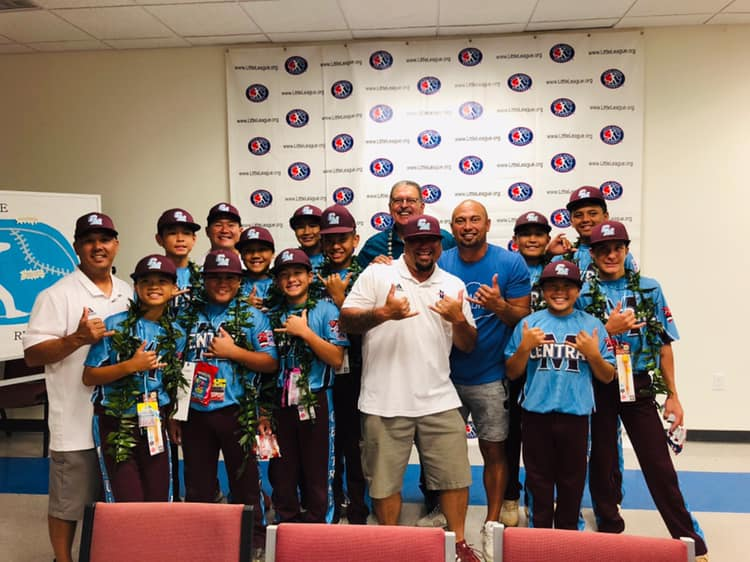 Maui's Little League Team Plays Friday on ESPN