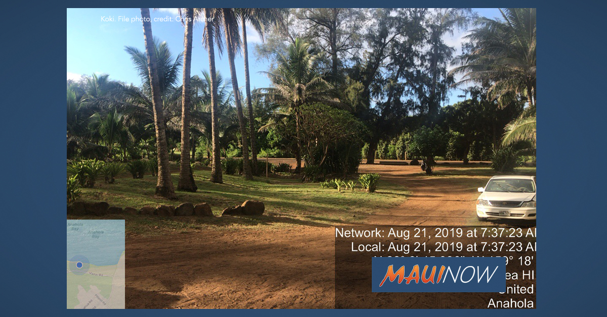 Campers and Structures Removed from Lands in Anahola, Kaua'i