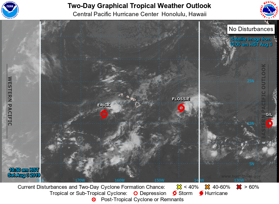 5 p.m.: Flossie & Erick Update, New System Gil