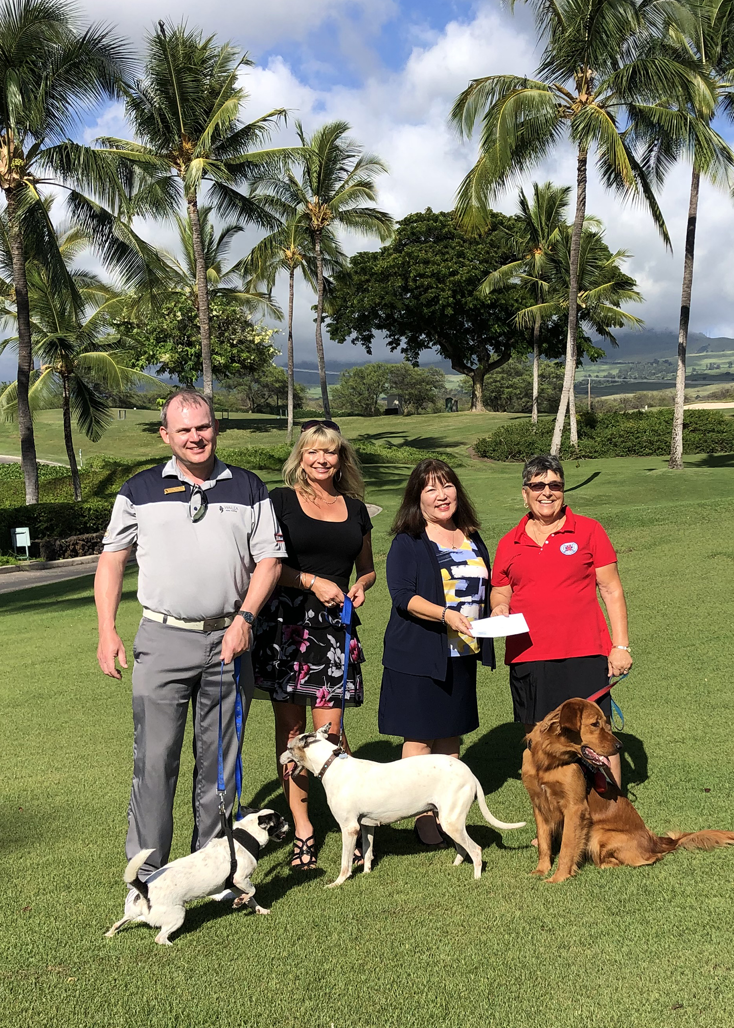 Wailea Golf Club Donates Thousands to Hawaiʻi Animal Rescue