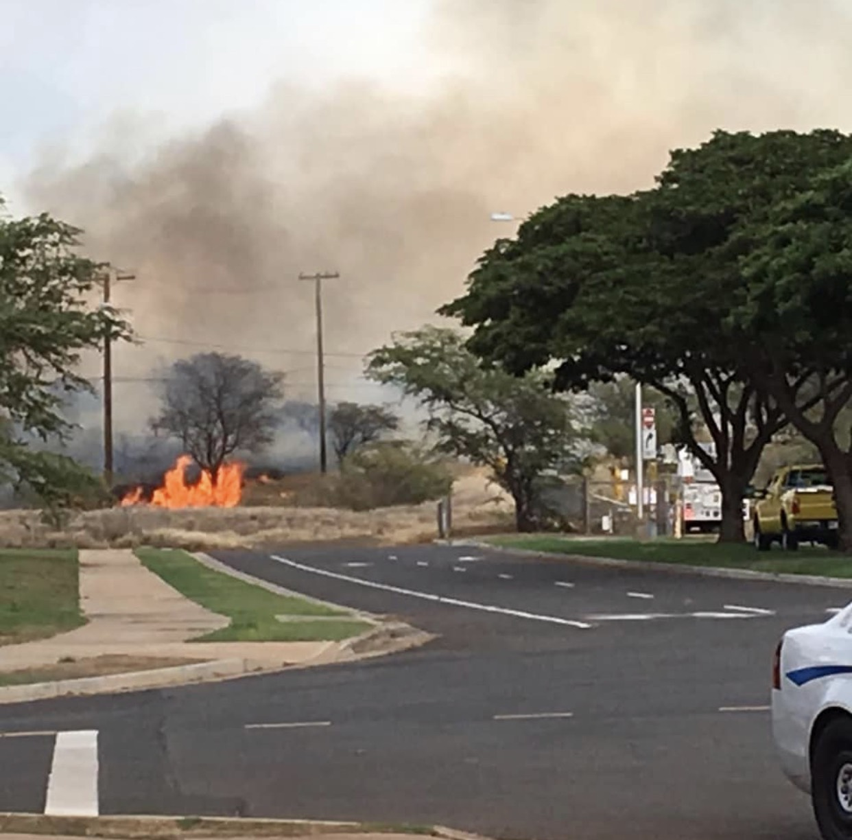 Mop-up Underway for Three Maui Fires, Kīhei Fire Burns 270 Acres