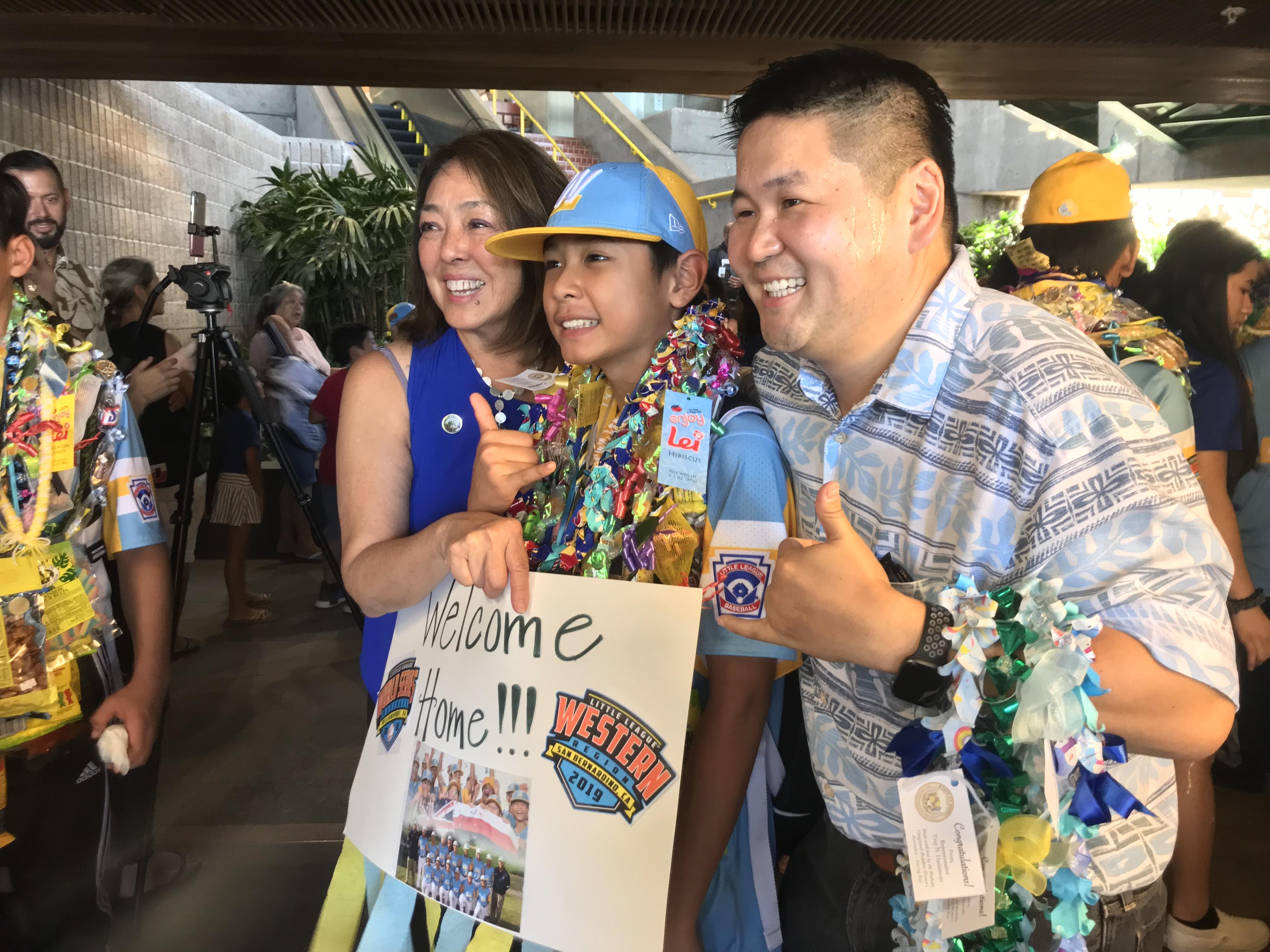 LIVE: Maui Little League Team Homecoming