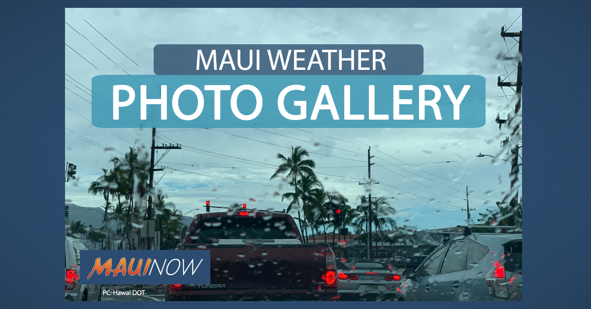 Maui Severe Weather Photos, Video