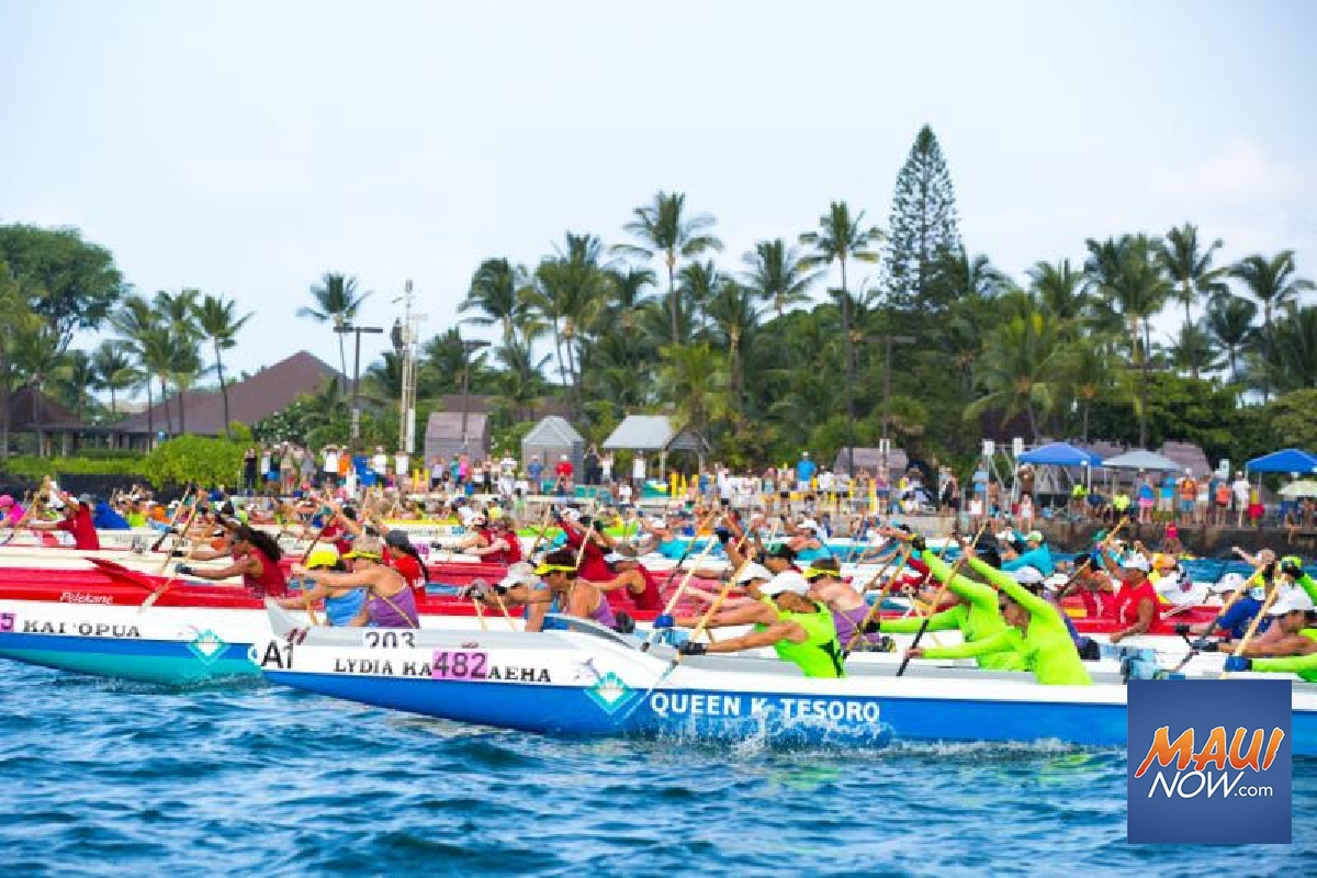 """Worldʻs Largest Canoe Race"" Kicks Off Next Week"