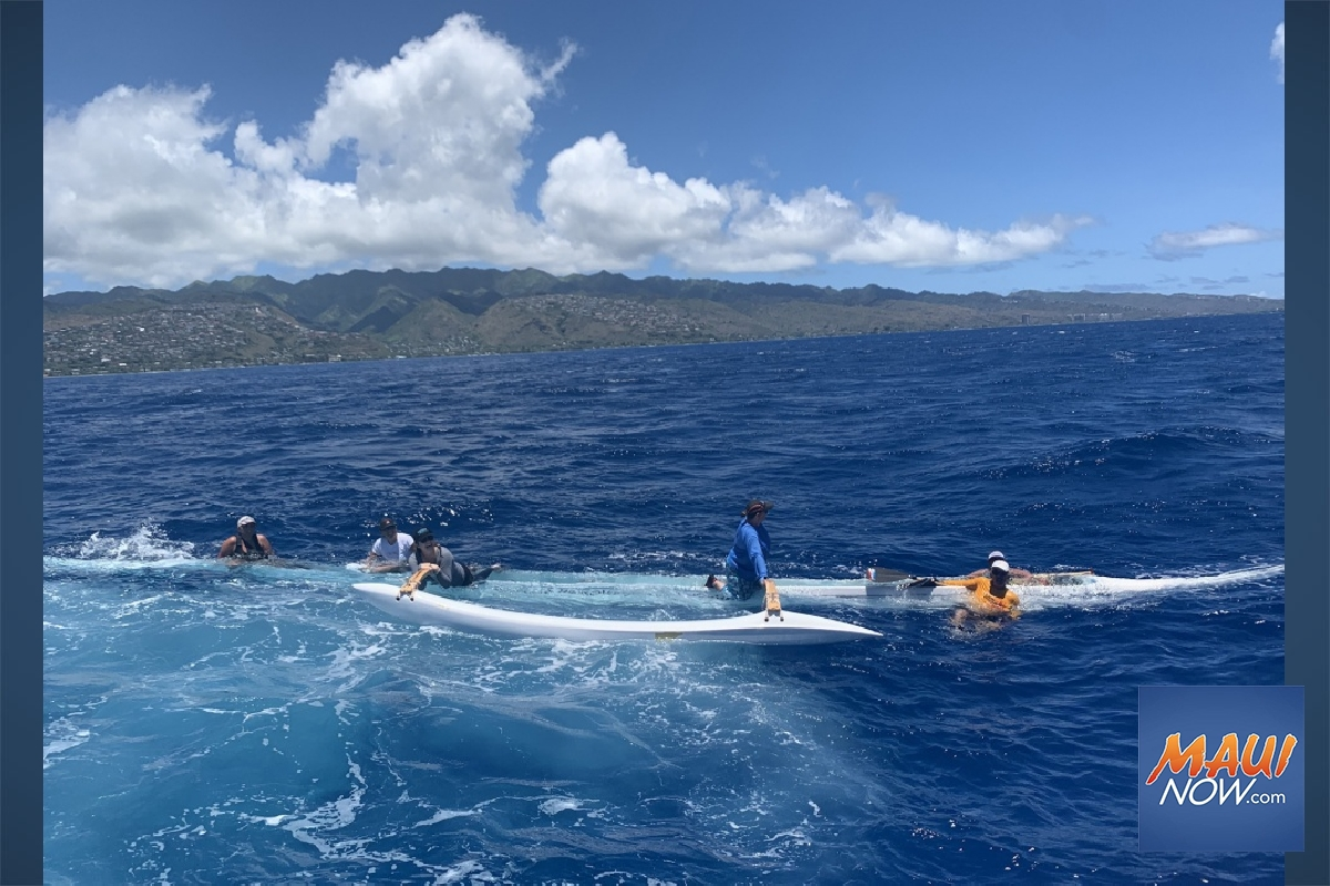 6 Paddlers Rescued From Sinking Canoe Off Diamond Head