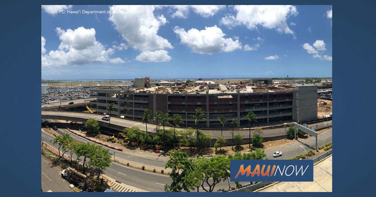 Airports Division Finances HNL Rental Car Facility at Record Low Rates
