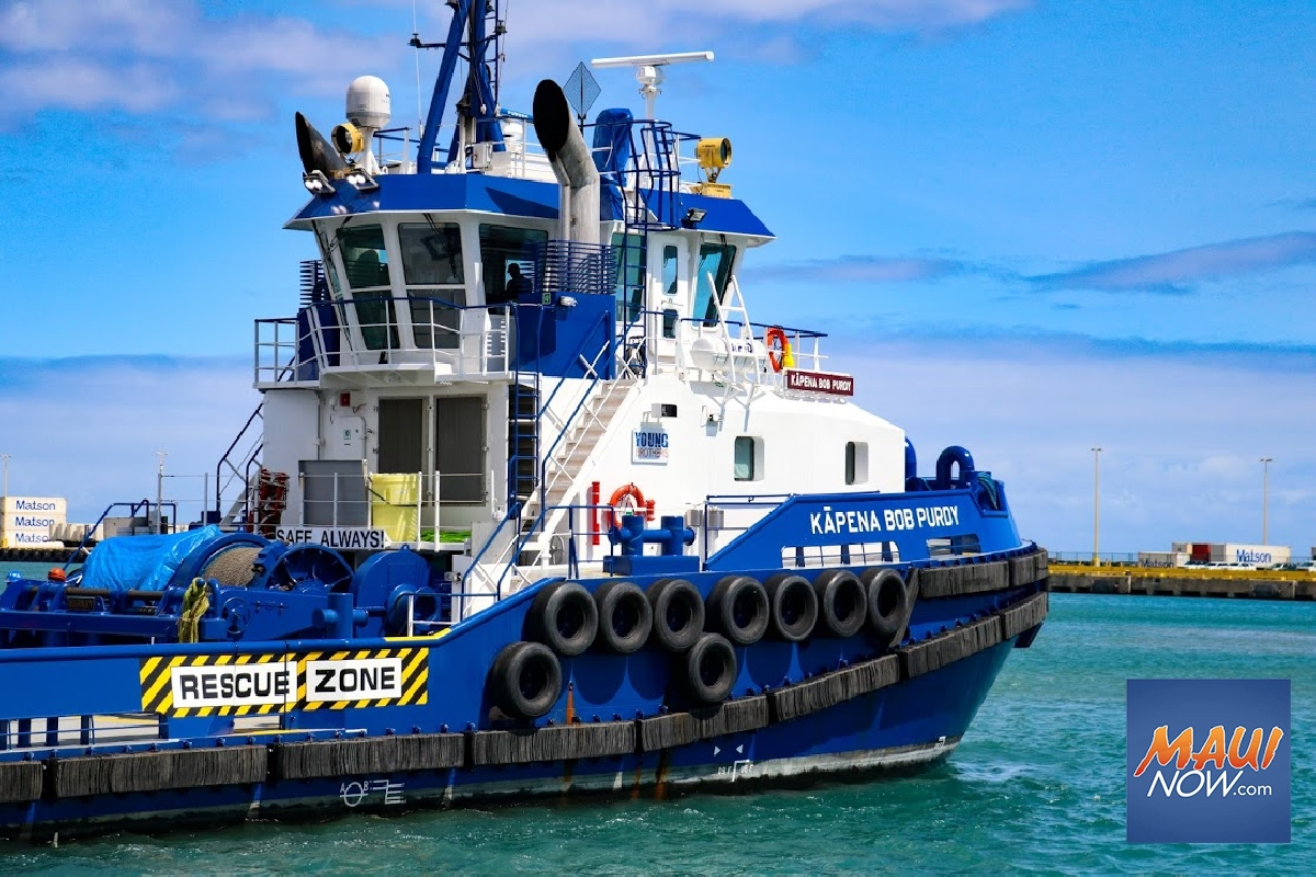 Young Brothers Invests $80M in New 'Green' Tugboats