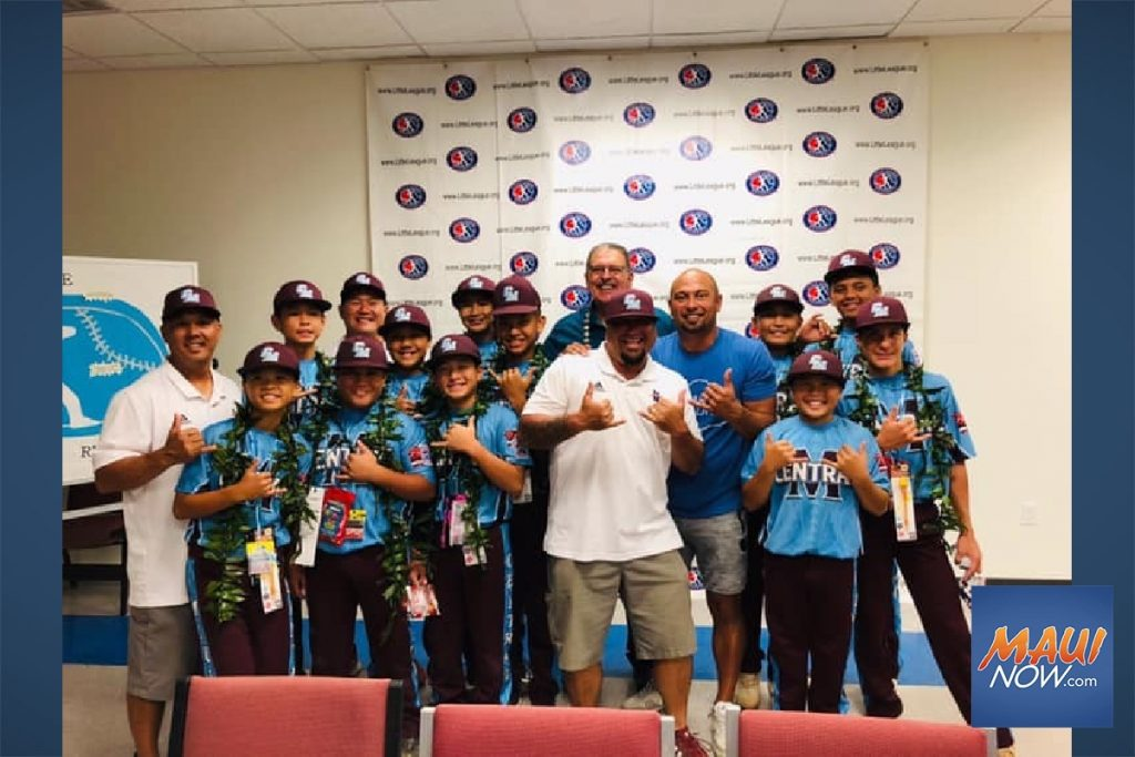 Maui Now: Mauiʻs Little League Team Takes First World Series Match