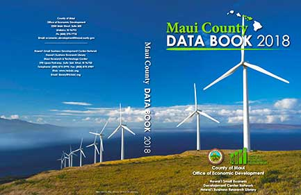 2018 Edition Maui County Data Book Now Available