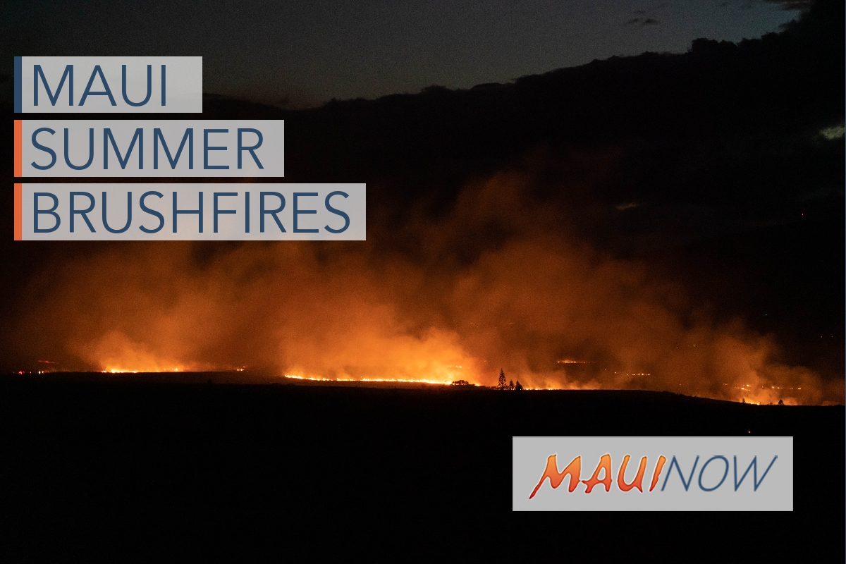 Maui's Weekly Brushfires Keep Burning On