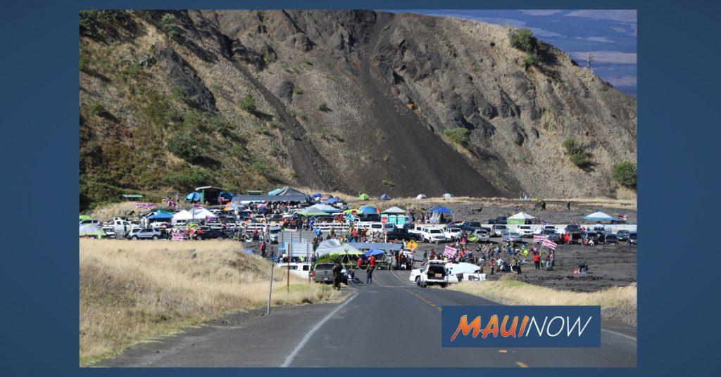 Maui Now: Traffic Enforcement Near Demonstration at Maunakea Nets 610 Citations, 7 Arrests