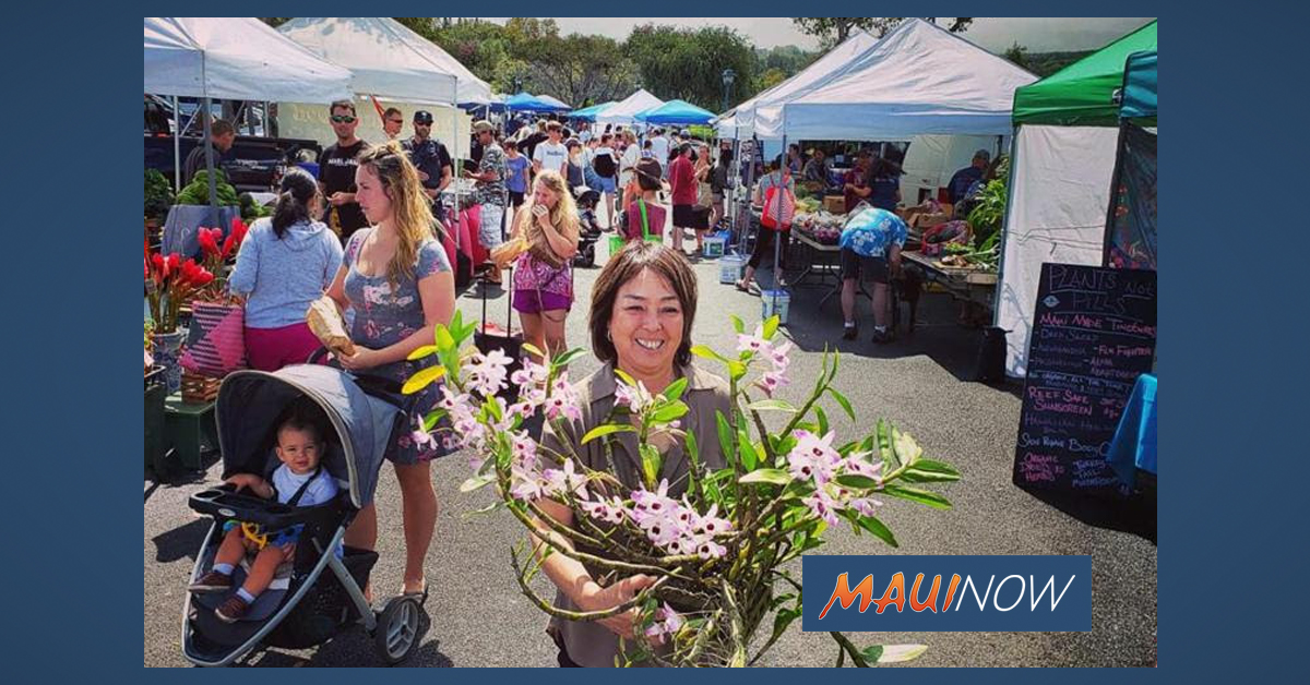 Sugimura Talk Story at Upcountry Farmers Market, Aug. 24