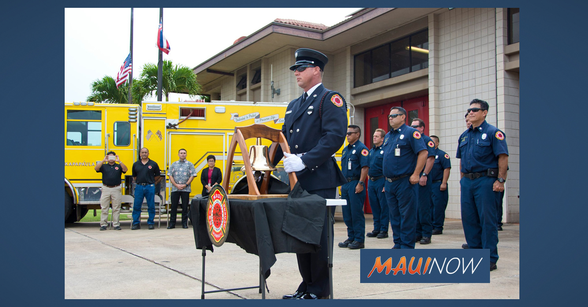 Maui Reflects on 18th Anniversary of 9/11