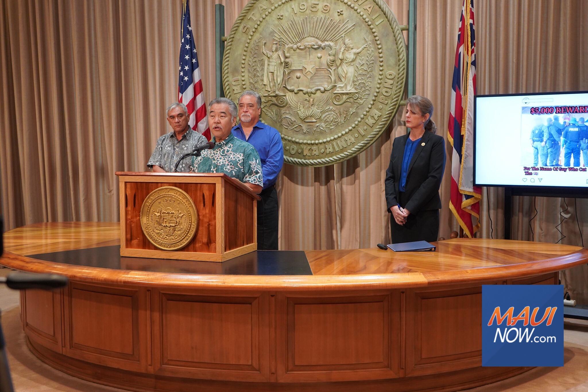 """State Decries """"False Narratives"""" at Maunakea; Protectors Maintain Practice of """"Kapu Aloha"""""""