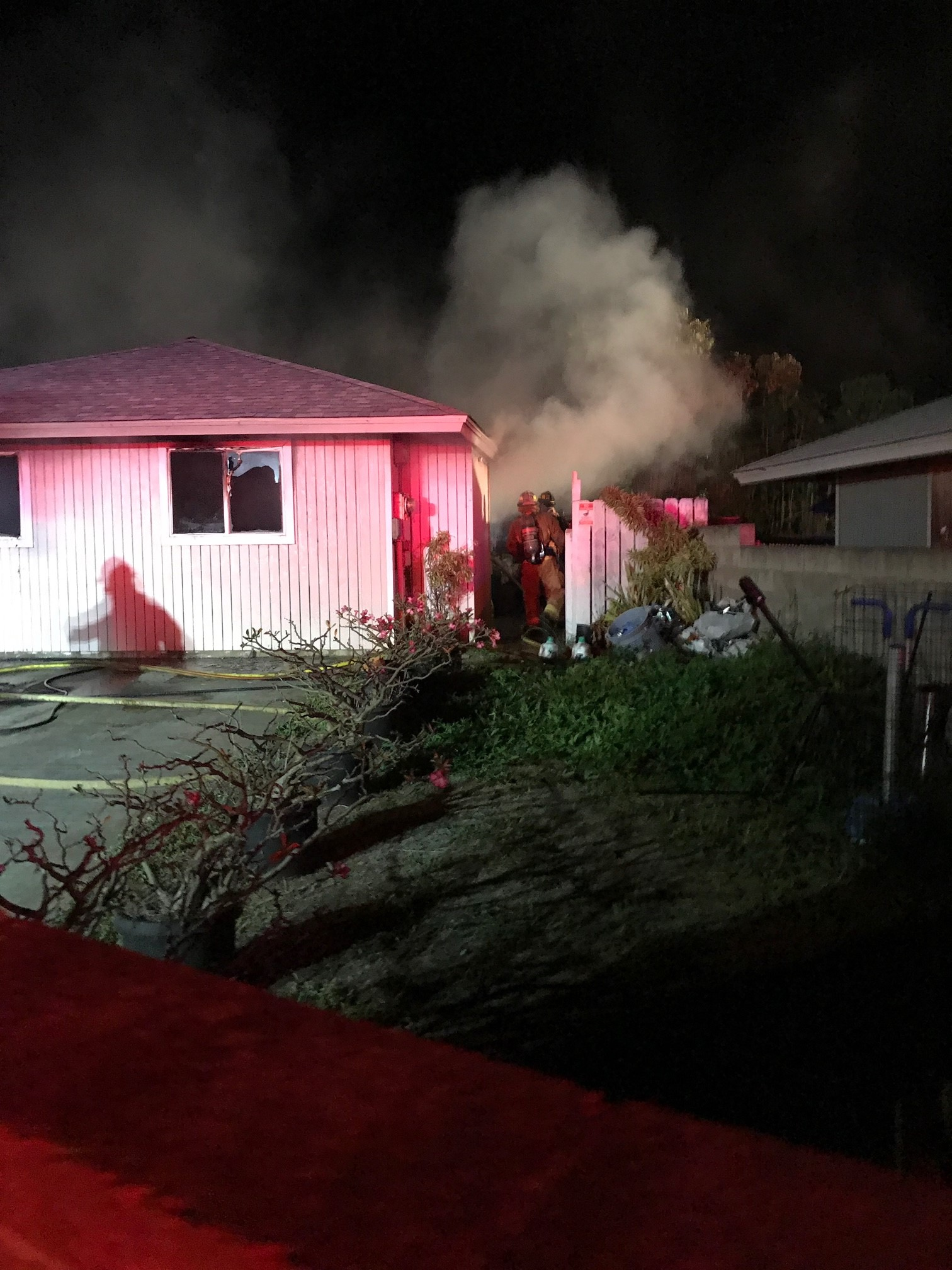 Neighbors Help Elderly Woman Escape Waiehu Terrace House Fire