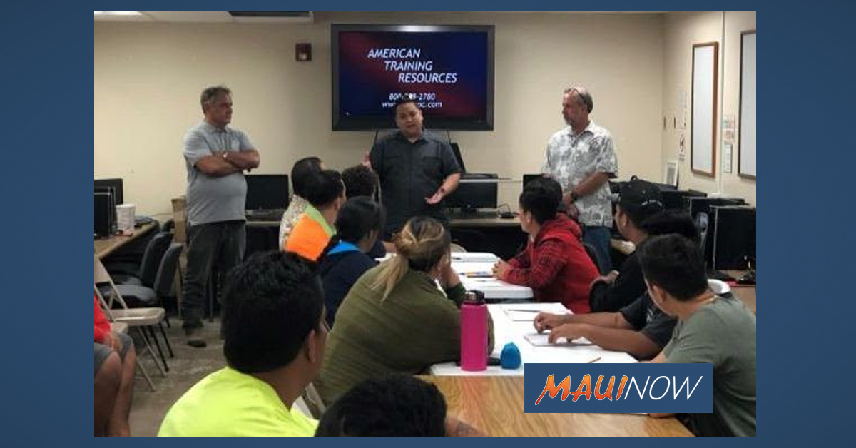 Accepting Applications for Carpentry Program on Maui and Moloka'i