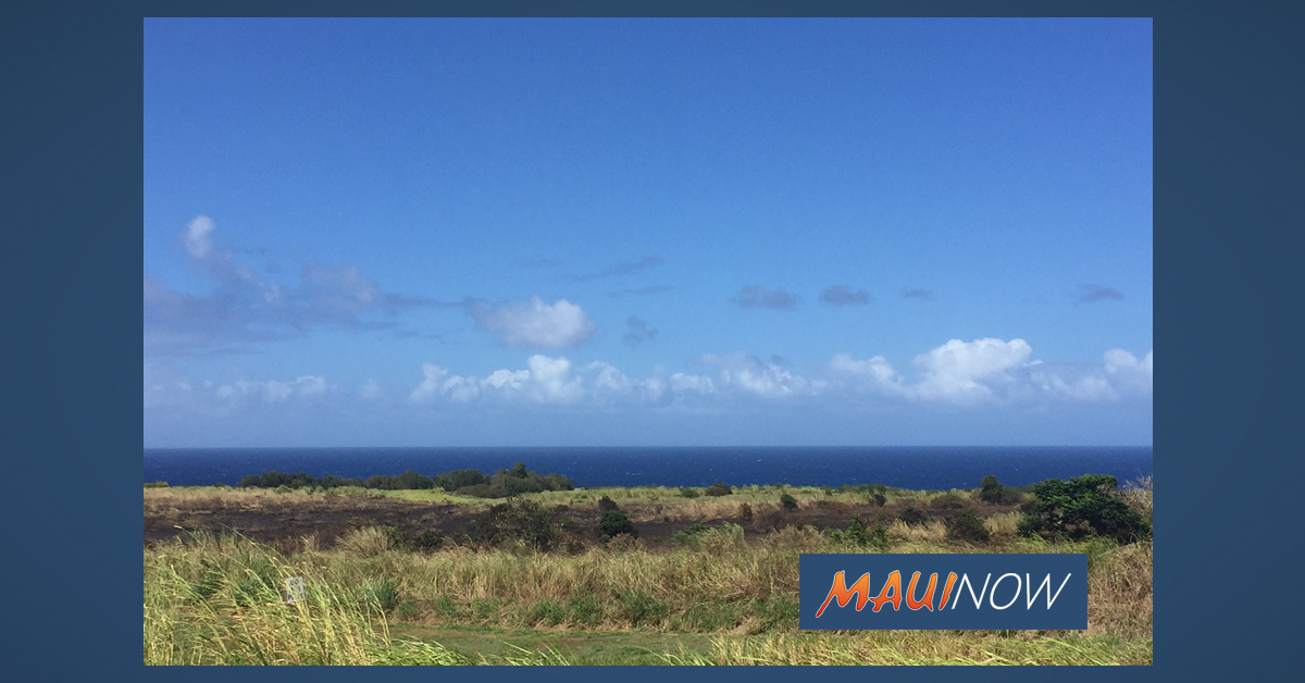 Molina Requests Adjusted Flight Patterns Over North Shore, Maui