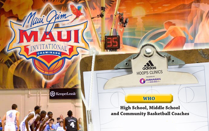 Maui Invitational Hoops Clinics Open for Registration