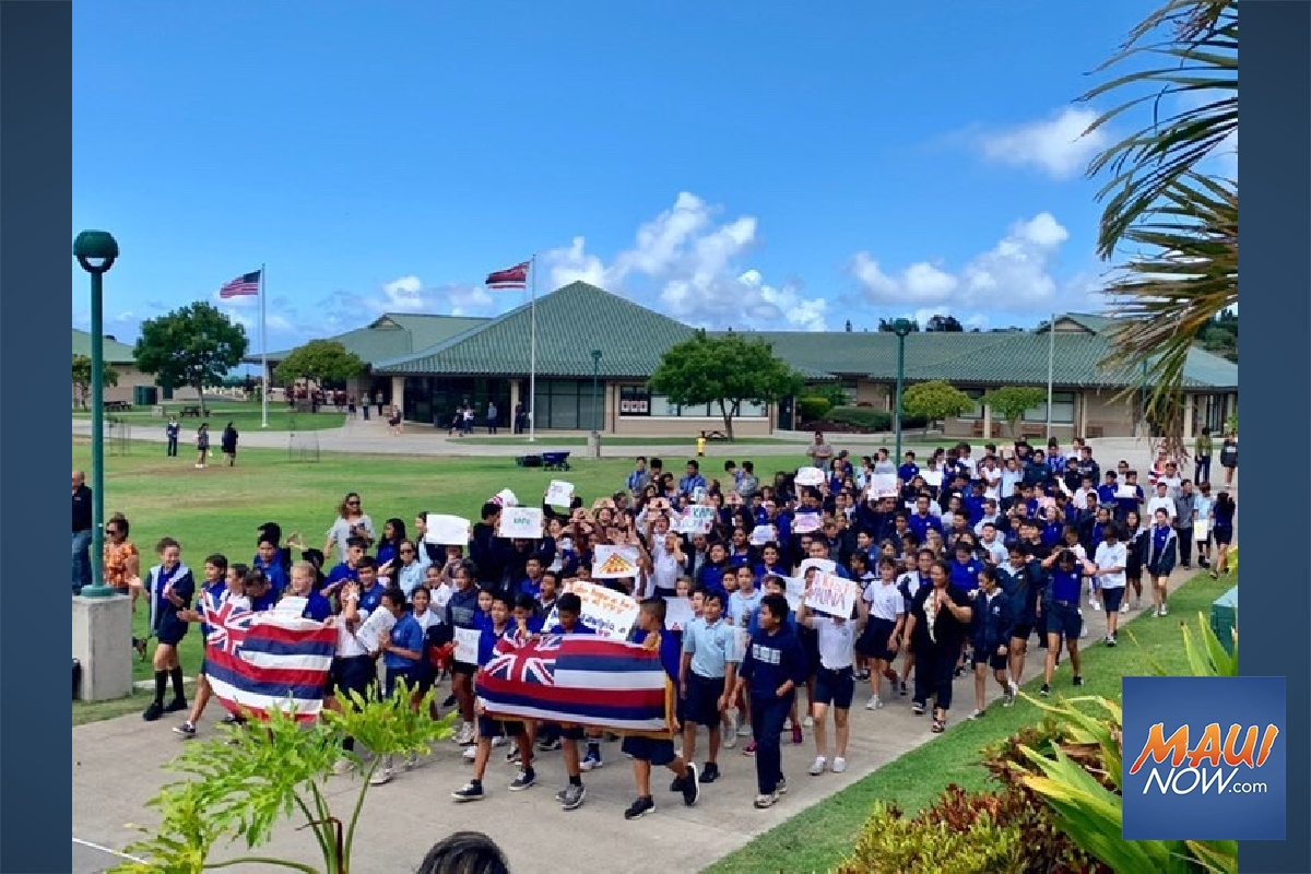 Middle Schoolers Walk Out After ʻDisrespectful' Removal of Hawaiian Flag at Maunakea