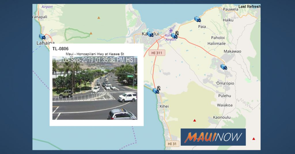 Maui Now : New Maui Traffic Camera Images Now Available Online