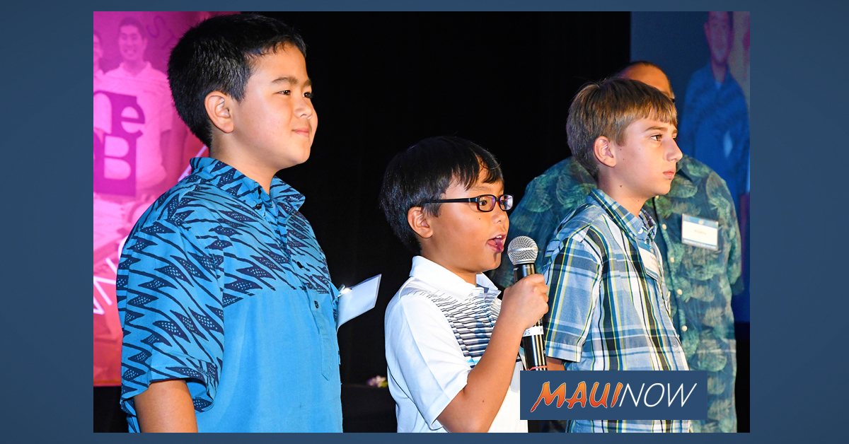 STEM Stars Honored by Maui Economic Development Board