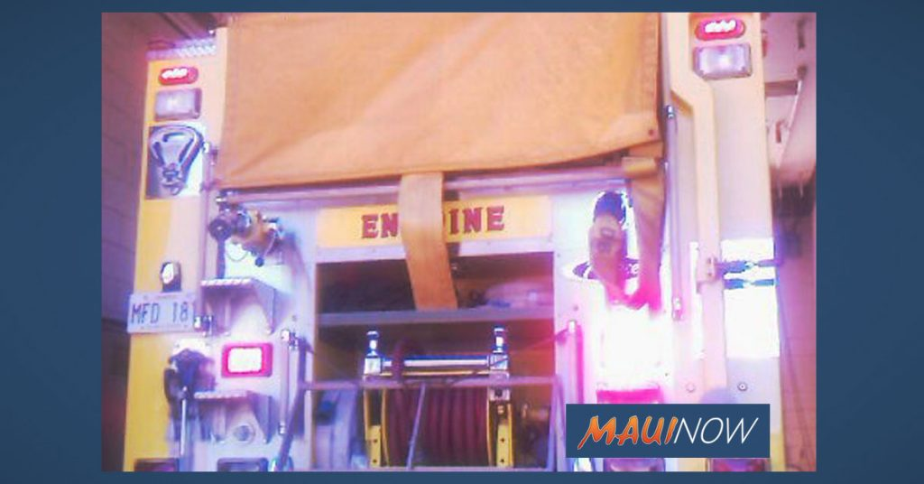"Maui Now: Crews Douse Fire at ""Old Misaki Hotel"" on Moloka'i"