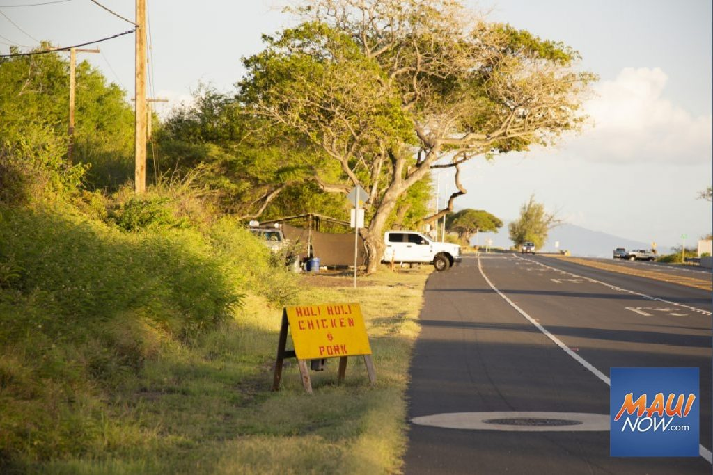 "Maui Now: Ask the Mayor: ""Pop-Up"" Tent Food Vendor Operating on State Land"