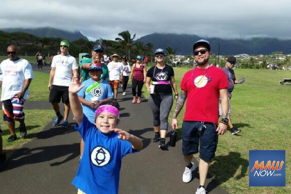 Maui Walk Raises $18K for Suicide Prevention Efforts
