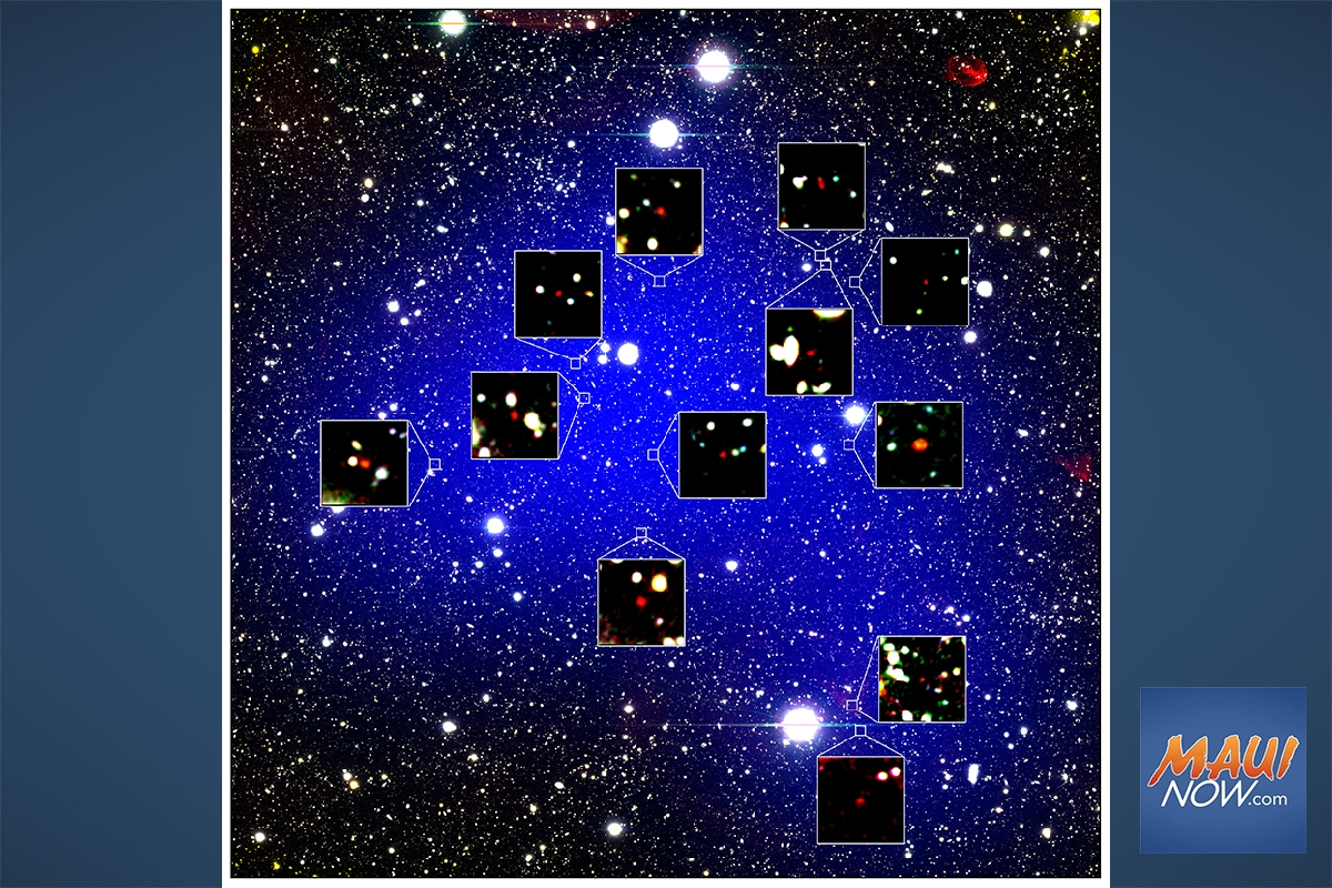 Astronomers on Maunakea Detect Oldest Known Galaxy Cluster