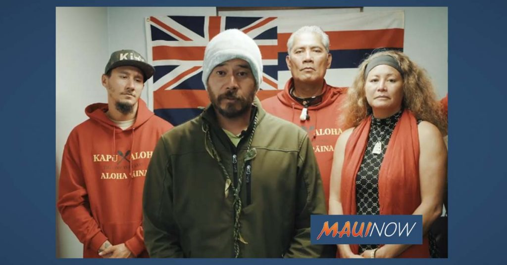 Maui Now: Maunakea Demonstrators Claim Officer Misconduct