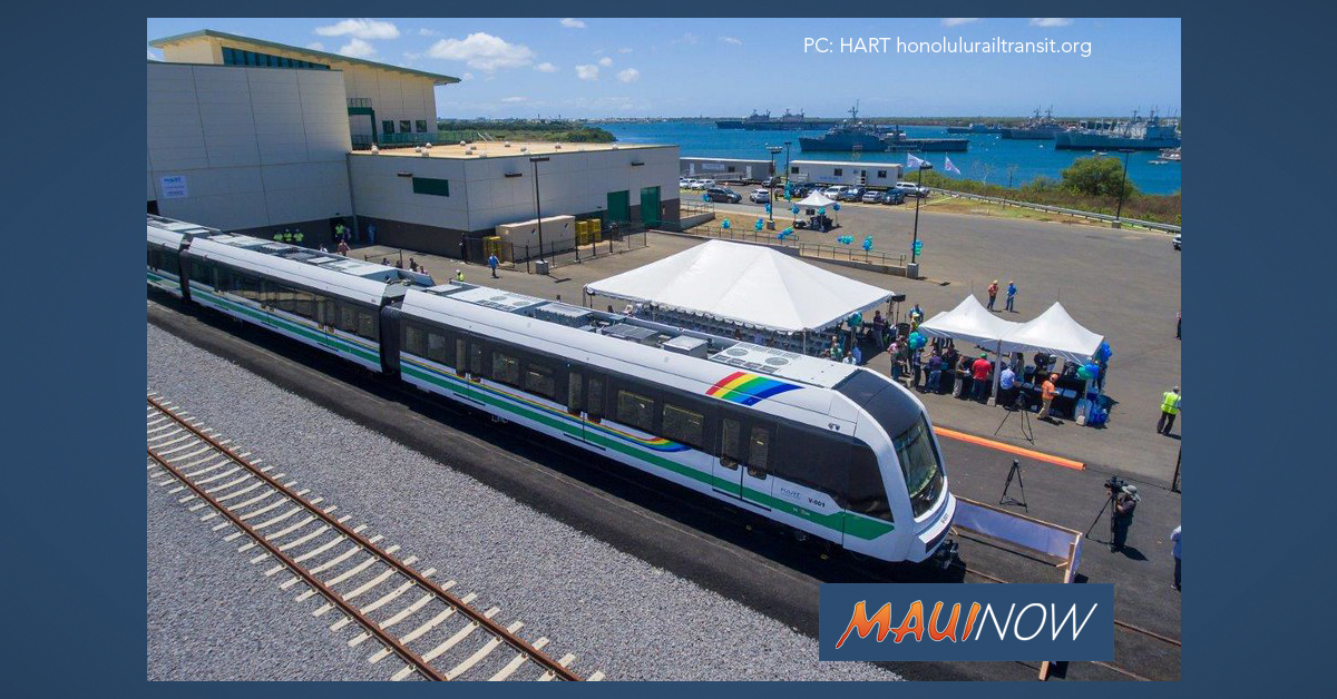 $70 Million Secured for Honolulu Rail Project in New COVID-19 Relief Bill