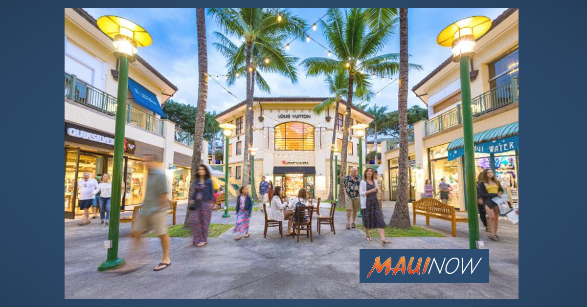 The Shops at Wailea Cut Hours, Cancels All Community Events, Store Hours Vary