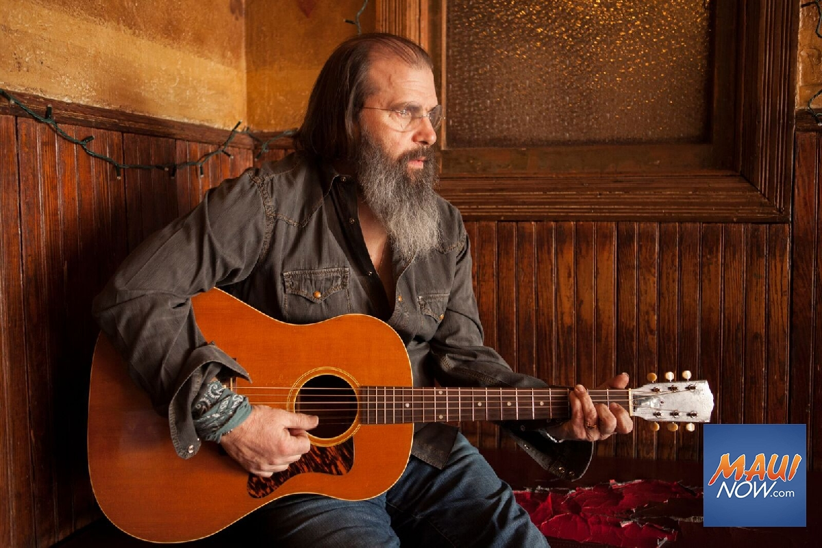 Acclaimed Singer-Songwriter Steve Earle to Perform on Maui