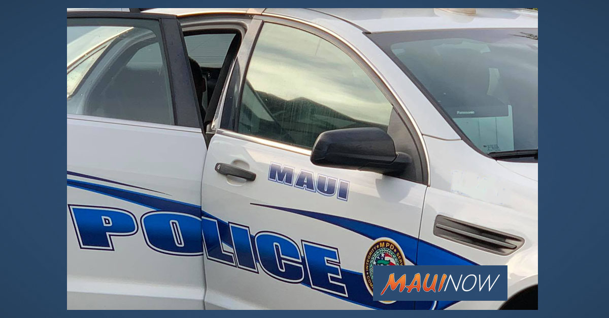 Man Arrested After Allegedly Crashing Stolen Car in Kīhei