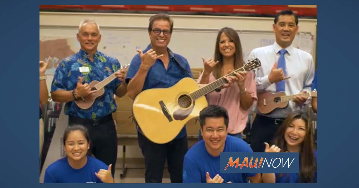 330 'Ukuleles & 131 Guitars Donated to Schools in Maui County