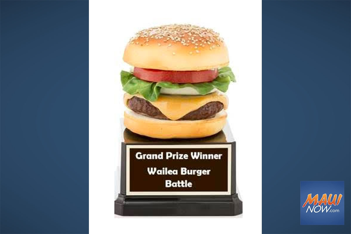 Shops at Wailea to Host First 'Burger Battle'