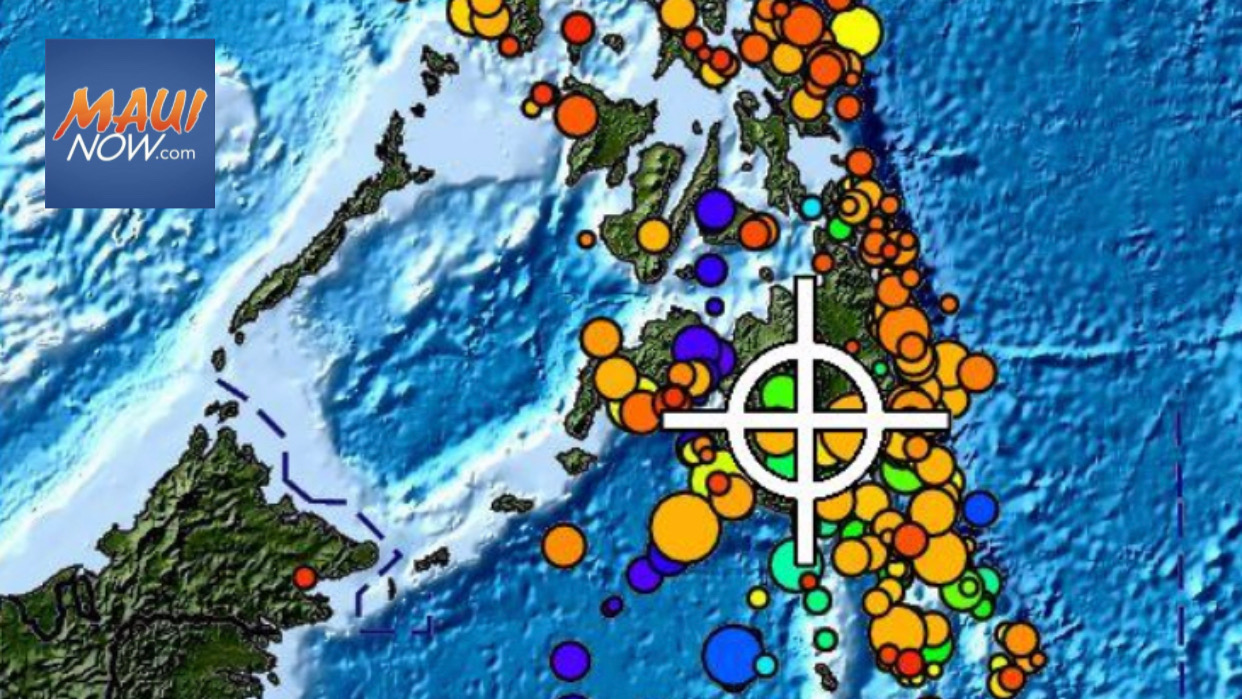 No Tsunami Threat to Hawaii After Large Philippines Quake