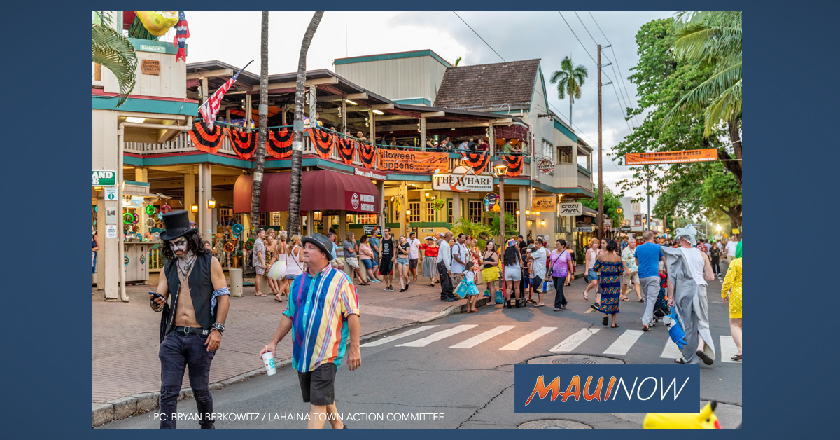 Lahaina Halloween Road Closures and Reveler Guidelines