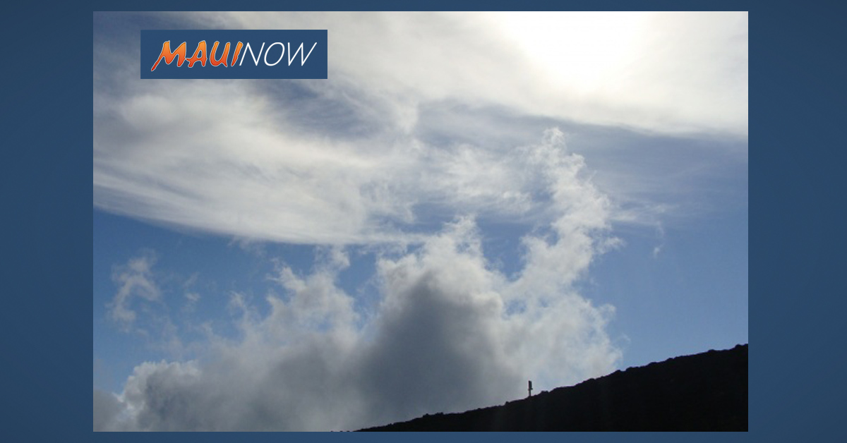 Wind Gusts of Up to 70 mph Forecast for Haleakalā, Maui