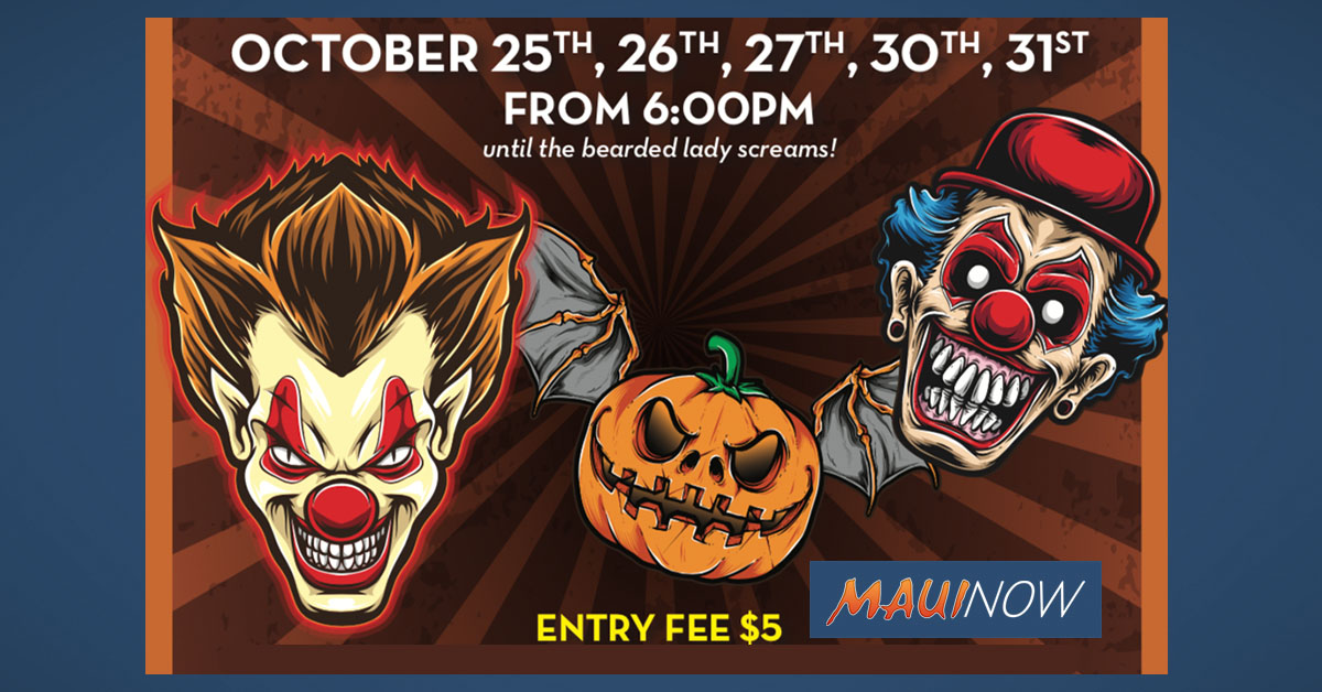 South Shore Circus Freaks Haunted House to Benefit Pacific Cancer Foundation