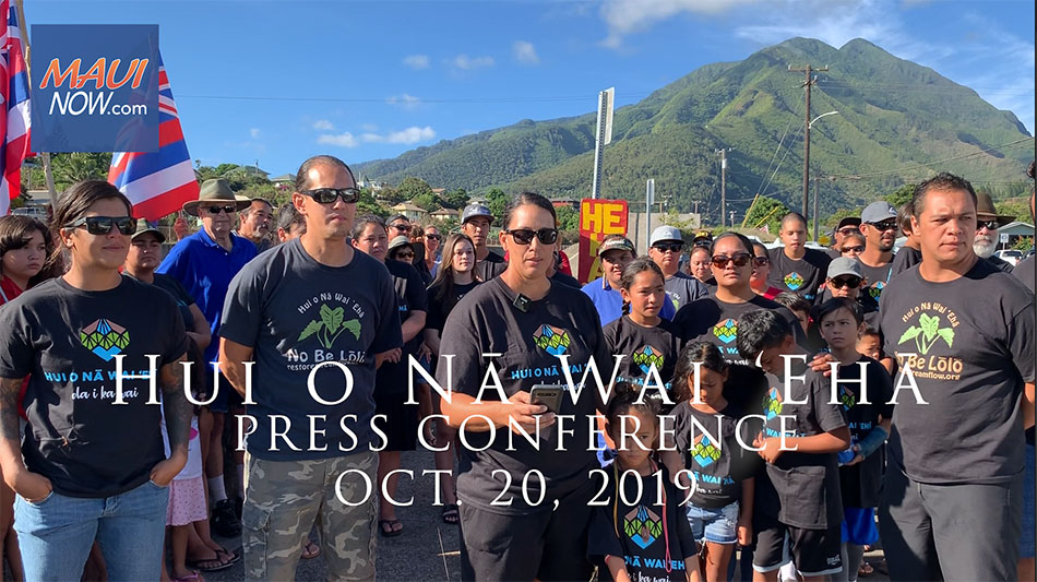 Maui Now: Hui o Nā Wai 'Ehā Calls for End of 'Plantation Politics'