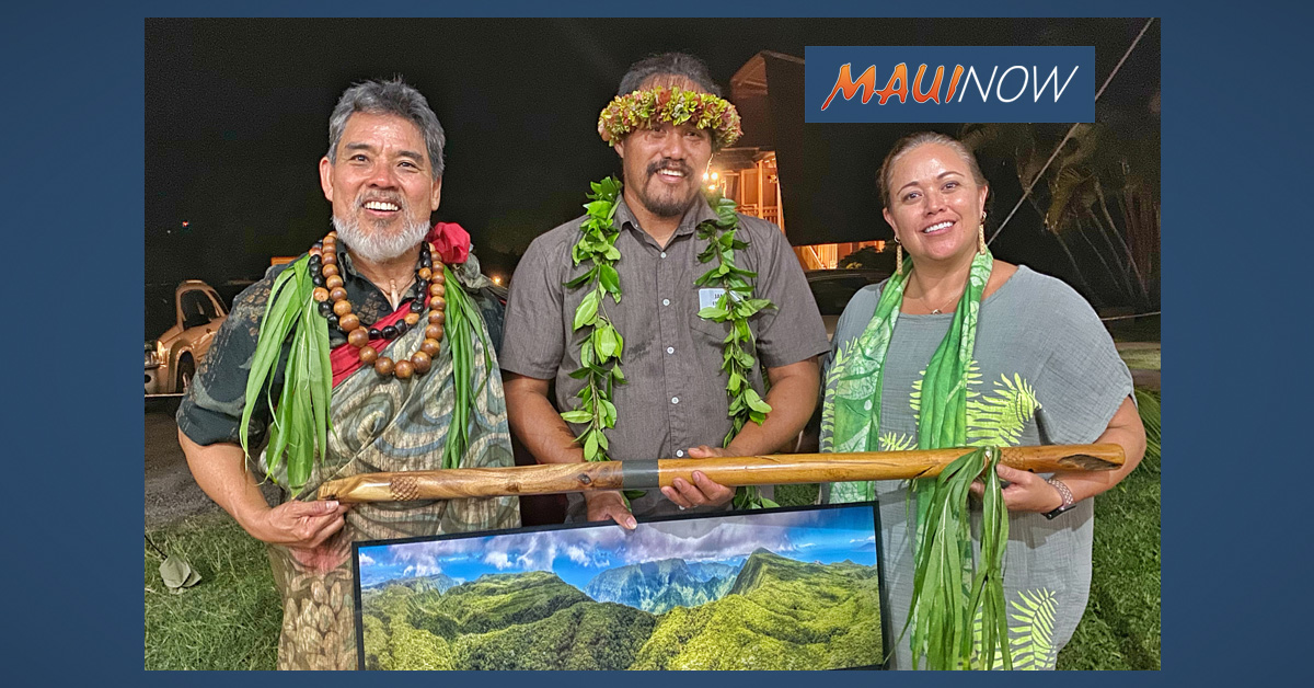 Moloka'i's James Espaniola Honored by Nature Conservancy