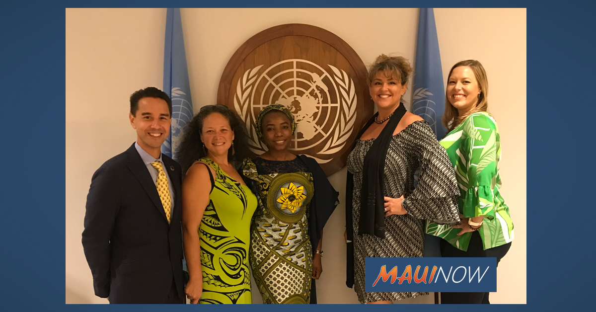 Molokaʻi Initiative Gets Prestigious Equator Prize at UN Climate Change Summit
