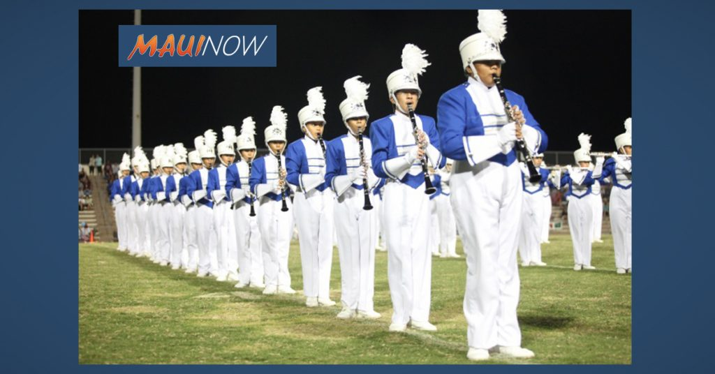 Maui Now: Marching Festival Features Lahainaluna and Maui High School Bands
