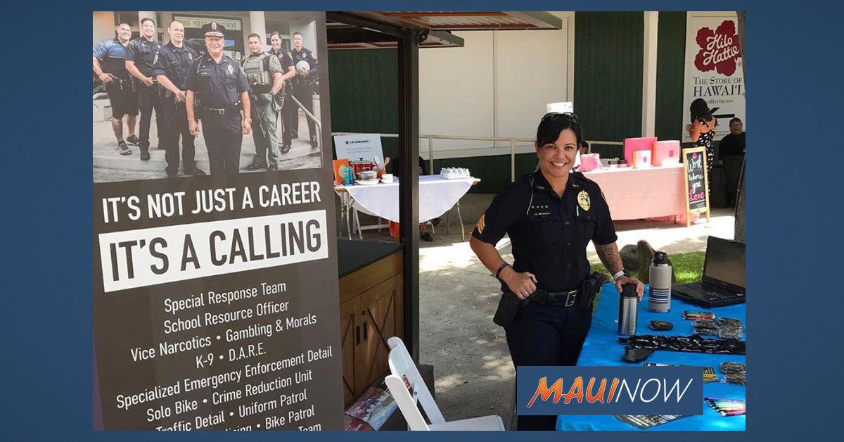 Maui Police Department Needs to Fill 48 Officer, 18 Dispatcher Vacancies