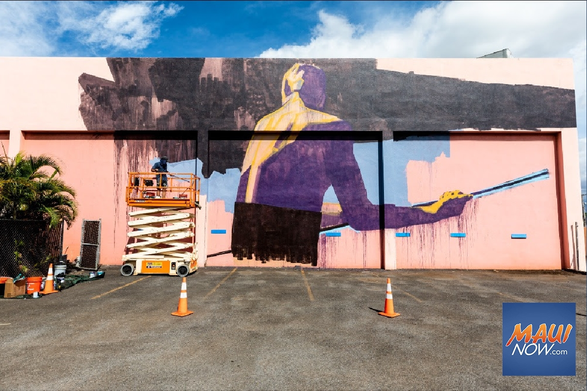 New Wailuku Mural Inspired by ʻŌlelo Noʻeau