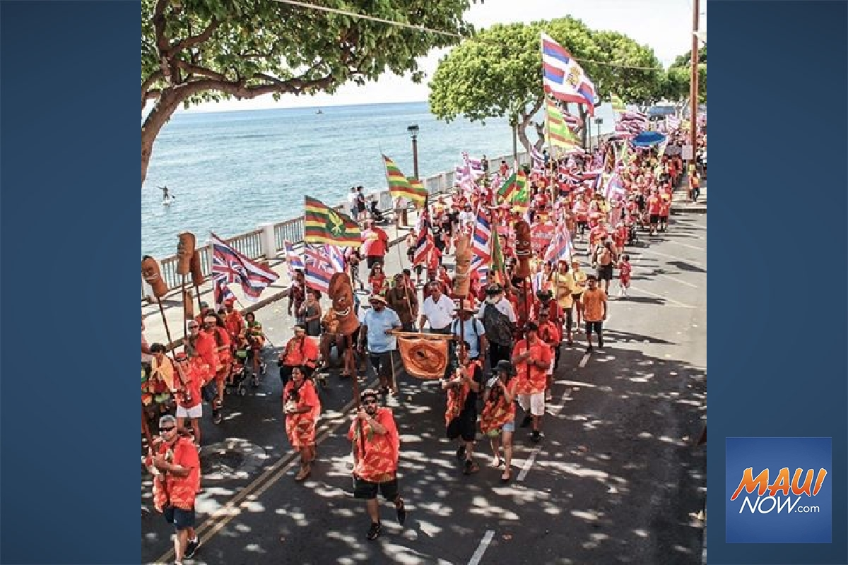 "From Front Street to the Fair, Organizers Spread Message of ""Aloha 'Āina"""