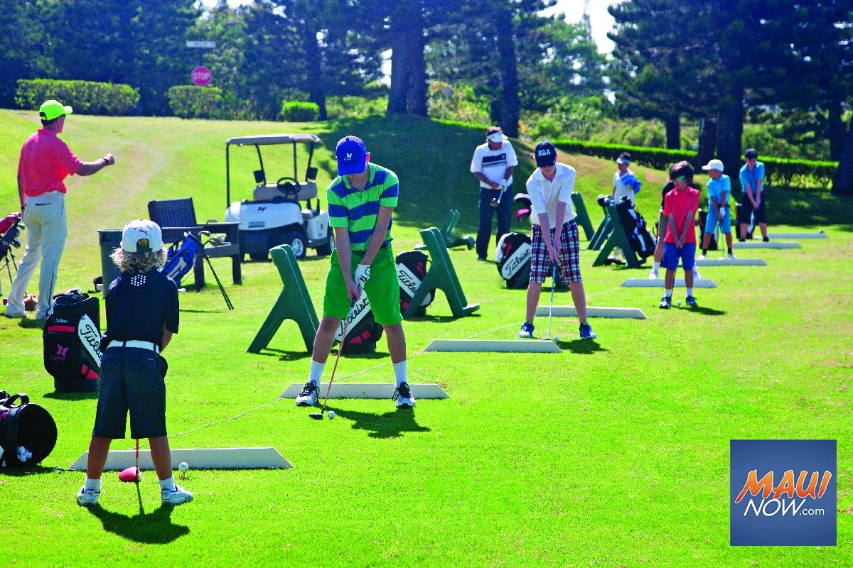 Keiki Golf at Kapalua