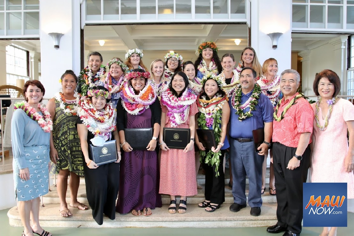 Two Maui Educators Finalists for Hawaiʻi Teacher of the Year