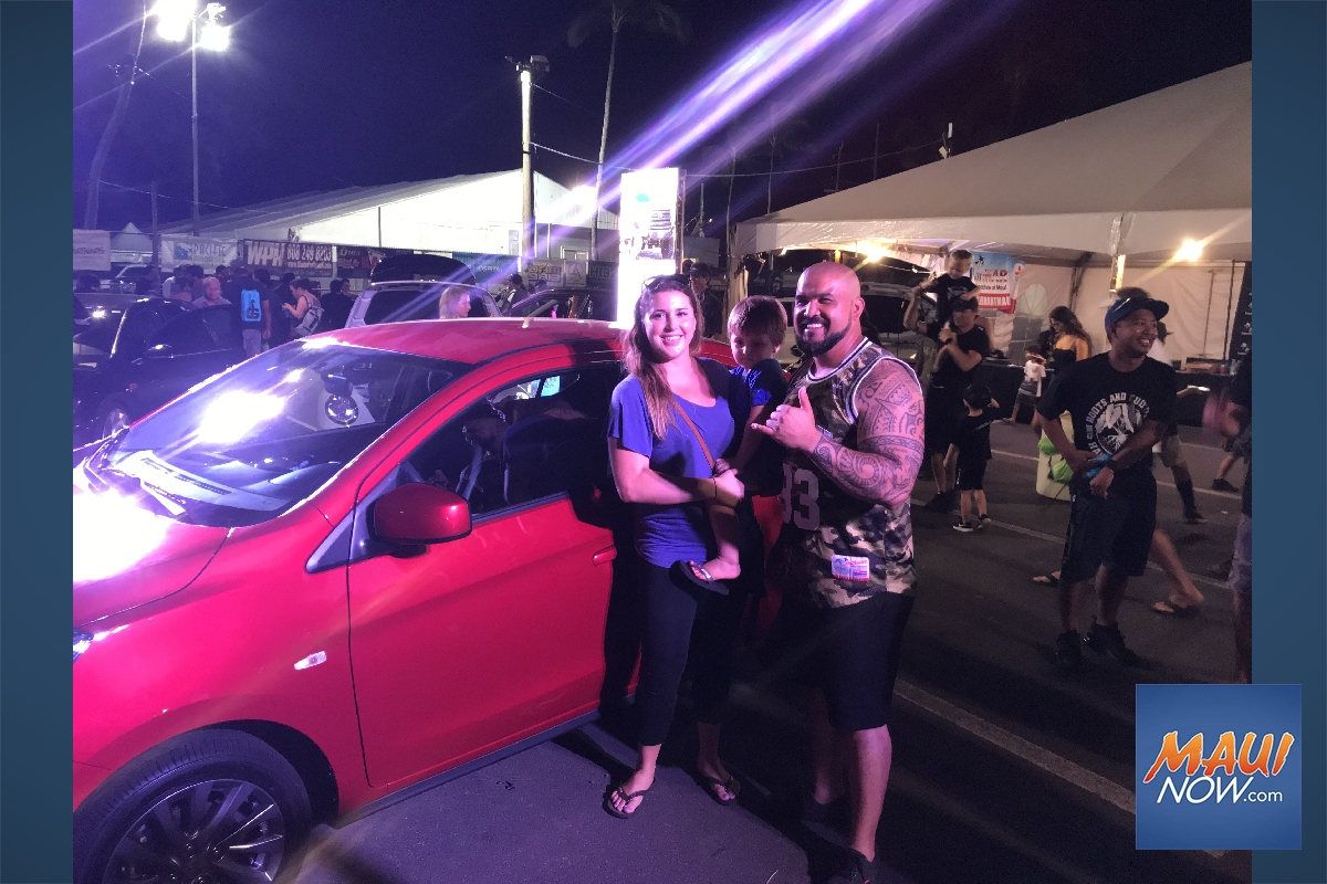 KarMART Gives Away Free Car at Maui Fair